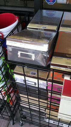 Memory box at Michaels
