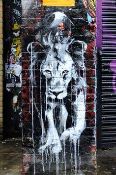Faith47 - street art london shoreditch - bricklane nov 2014