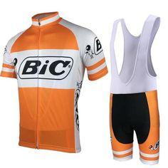 Retro Bic Pro Team Cycling Kit. Bicycle JerseysCycling JerseysMountain Bike  ... a702e883a