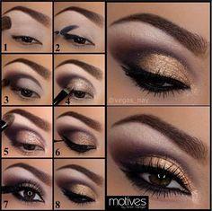 13 Charming Golden Eye Make-up sieht aus wie 2017 # 13 # Charming # … - Augen Make Up Eye Makeup Tips, Skin Makeup, Makeup Ideas, Daily Makeup, Makeup Trends, Makeup Tips And Tricks, Makeup Pics, Eyeliner, Eyebrows