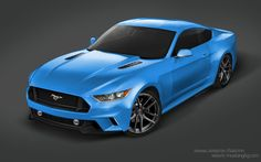 2015 Ford Mustang Rendered with Various Body Kits - autoevolution ...