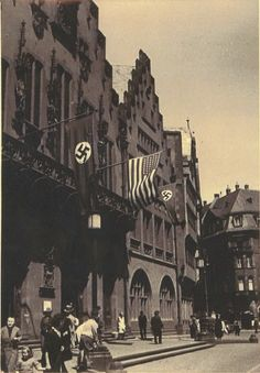 Nazi Germany wasn't a hostile place for a small American religious organization that knew how to play the game. just months before the Second World War, the Mormons enjoyed a conference in downtown Frankfurt am Mein. Mormons, University Of Oklahoma, The Third Reich, Deconstruction, Frankfurt, World War Two, Book Publishing, Conference, Two By Two