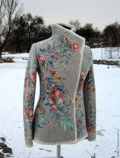 Жакет Азалия Hippy Chic, Look Boho, Crazy Outfits, Jackets For Women, Clothes For Women, Russian Fashion, Sweater Design, Clothing Patterns, Fashion Addict