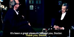 """Because he's a pro at [screaming internally]. 