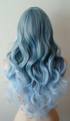 É lindo, e de cor azul e maravilhoso ♡