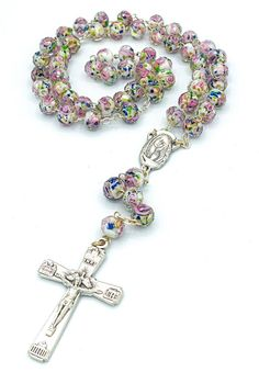 Rosary Beads, Prayer Beads, Cute Gift Boxes, Cute Gifts, Rosary Catholic, Holy Rosary, White Bohemian, Pouch Pattern, Homemade Jewelry
