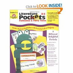 Literature Pockets, Folk Tales and Fairy Tales, Grades 2-3: Evan-Moor Educational Publishers, Jo Ellen Moore: 9781557998729: Amazon.com: Books