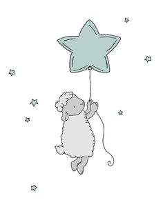 Custom Set Lamb Nursery Art Prints Nursery by SweetMelodyDesigns