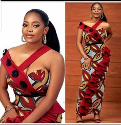 Check out unique latest ankara styles for ladies. What's not to love about ankara styles? They are simply gorgeous and can make. African Dresses For Kids, African Wear Dresses, African Fashion Ankara, Latest African Fashion Dresses, African Print Fashion, Africa Fashion, African Attire, African Style, African Prints