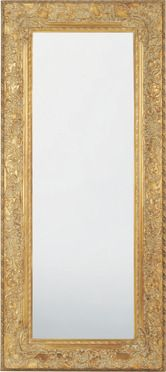 Mirror Tendence Opulence Gold 95x215 cm by KARE Design #mirror #gold  #glamour #blingbling #glitter #diamonds #sparkle #KARE #KAREDesign