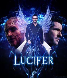 The Fallen Angel Lucifer Lucifer 3, Tom Ellis Lucifer, Orphan Black, Julie Andrews, Series Movies, Tv Series, Dramas, Vampire Pictures, Lauren German