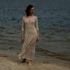 Crochet dress PATTERN Boho crochet dress PATTERN Схемы для
