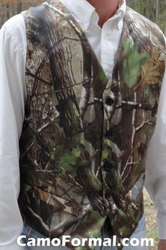 mens vest in realtree ap