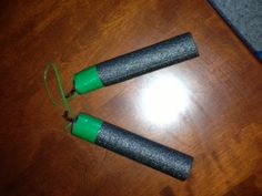 Foam Numchucks Great for Teenage Muntant Ninja Turtle Party Favors.