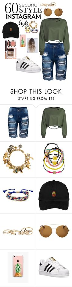 """Untitled #168"" by katierae1199 ❤ liked on Polyvore featuring WithChic, Carole, Ettika, GUESS, Givenchy, The Casery, adidas, Charlotte Tilbury, 60secondstyle and PVShareYourStyle"