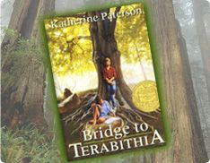A discussion guide for the Newbery Medal winner by Katherine Paterson in which Jess and Leslie create their own kingdom in the woods until tragedy strikes and one of them must face life alone.