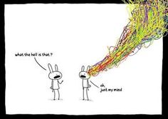 Busy mind!
