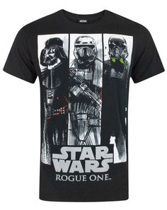 Star Wars Rogue One Character Panels Men's T-Shirt