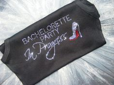 Las Vegas Bachelorette Party Red themed by uniqueandtrendy on Etsy, $21.95