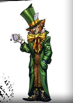 The Mad Hatter - Batman Arkham Asylum