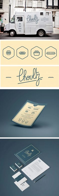 Choultz Food Truck Branding by William Wechter
