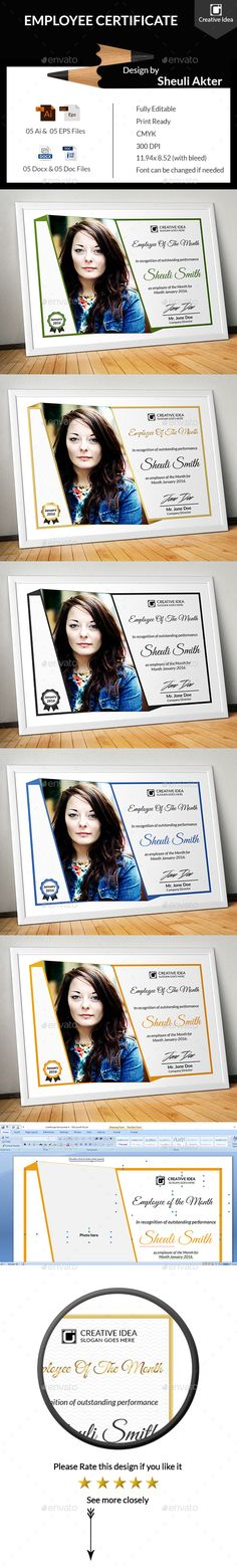3 Colors Multipurpose Certificates Colors, Template and - certificate template software