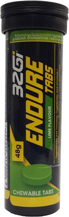 32GI Endure 48g Chewable Tabs Lime