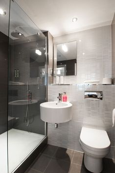 modern ensuite with shower - Google Search