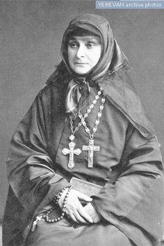 Armenian nun, 1916