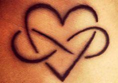 Tatuaggio infinito cuore Trendy Tattoos, Tribal Tattoos, Girl Tattoos, Tattoos For Guys, Tatoos, Tattoo Font For Men, Tattoo Fonts, Tattoo Quotes, Lion Sketch