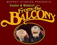 Statler & Waldorf: the original baboons!