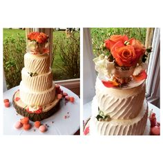 Beautiful wedding cake, had to snap this one at work, simple, elegant and classy