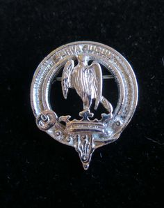Vintage Scottish Hay clan kit or cap pin by InTheMagpiesNest69