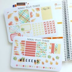 Just listed a new autumn theme kit in my shop! Autumn Gatherings  It's in collaboration with another shop @jessicas_as3rd23 Make sure you check out her set too!!  #etsy #etsystickers #etsyshop #nikkiplusthree #ellacouturebyjessica #fallkit #autumnstickers #fallstickers #planner #plannergirl #stickerobsessed by nikki_plus_three
