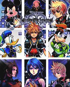 Kingdom Hearts 2.5 Remix.