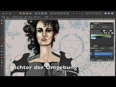 Speed painting mit in der Pixel Persona – Affinity Designer – Discovery Affinity Designer