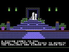 Below the Root - my favorite Commodore 64 game (1984).  I was blown away by the graphics and story line...