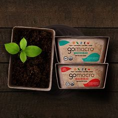 GoMacro believes in feeling good about what we eat.  How it tastes, how it's made, and how it sustains the environment.  Family owned and based in a small rural community, our wholesome food maintains goodness on all levels.  Small in size but big on impact, we are a big picture company.  GoMacro.