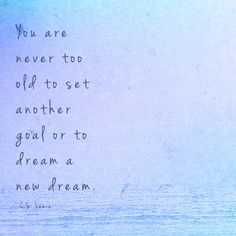 #thebeautyofone #DreamBig #C.S.Lewis