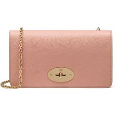 Mulberry Bayswater Clutch Wallet ($510) ❤ liked on Polyvore featuring bags, wallets, clutches, bolsas, rose petal, mulberry bag, mulberry wallet, beige bag, beige wallet and chain shoulder bag