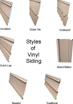styles of vinly siding and with the smart and amazing design ideas that look - Siding Types