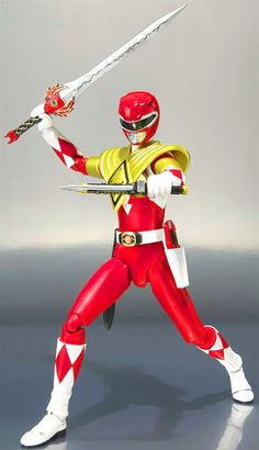 Power Rangers Mighty Morphin Armored Red Ranger