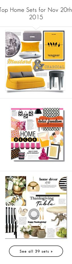 """""""Top Home Sets for Nov 20th, 2015"""" by polyvore ❤ liked on Polyvore featuring interior, interiors, interior design, home, home decor, interior decorating, Balmain, Coalesse, Zentique and Disney"""