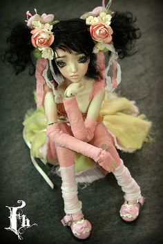 Doll , one of a kind dolls by Aidamaris Roman Forgotten Hearts   Flickr