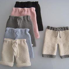 babies garter stitch merino pants crochet draw string at waist Crochet For Boys, Knitting For Kids, Sewing For Kids, Baby Sewing, Baby Knitting, Crochet Baby, Knit Crochet, Knit Baby Pants, Baby Pullover