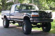 "1994 Ford F150 4x4 Ext Cab with 302 V8. 6"" Superlift lift kit,"