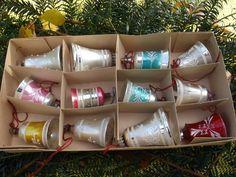 12 antike, verschiedene Glocken,Christbaumschmuck,alte Glöckchen,guter Erhalt | Sammeln & Seltenes, Saisonales & Feste, Weihnachten & Neujahr | eBay!