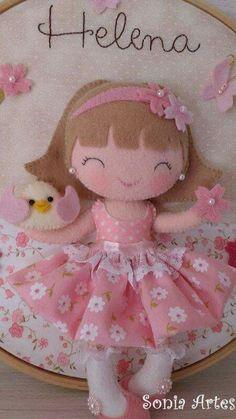 Soft Toys Making, Diy And Crafts, Arts And Crafts, Samara, Felt Toys, Doll Crafts, Felt Art, Mobiles, Baby Knitting