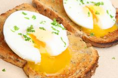 Lisa's Open-Faced Egg Sandwich: Pressed for time? Make this quick and delicious sandwich for breakfast.