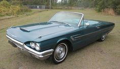 1965 Thunderbird convertible, Midnight Turquoise